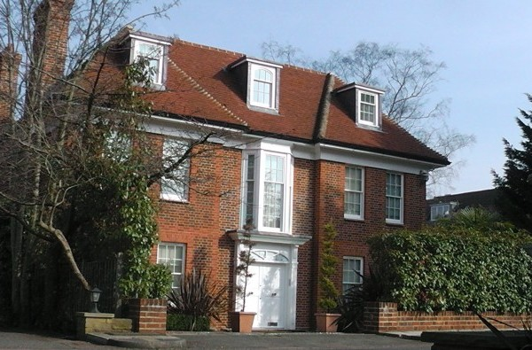 The £10m Hampstead house seized from Saadi Garaddi.